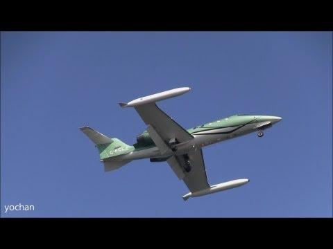 Gates Learjet 36A (Registration: C-FCLJ, cn 36A-037) Business Jet aircraft.Landing approach