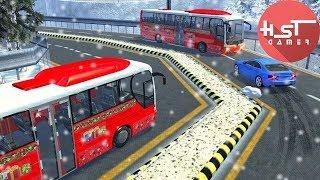 Uphill Bus Drive : Christmas Bus Simulator - Android Gameplay Video - Juegos de Autos screenshot 2