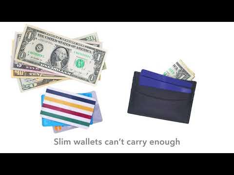 5c7dd639a417 Travelambo Rfid Front Pocket Wallet