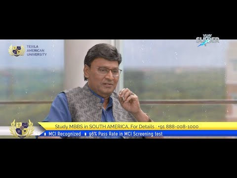 Tamil TV Show on Vijay Super with actor K.Bhagyaraj - Texila American University