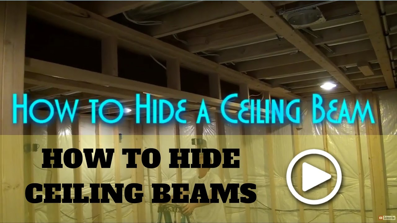 how to box in beams how to frame a beam - Innovative Wood Beam Ceiling