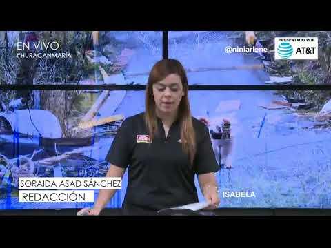 HuracanMaria PR Informacion  Isabela