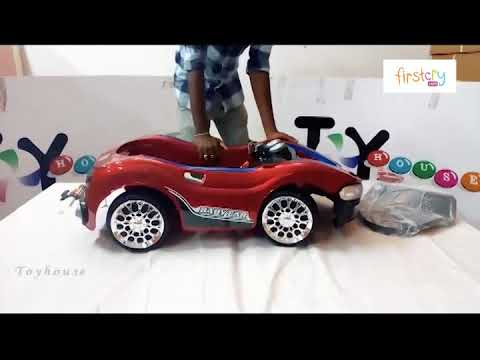 058b620d70c Toyhouse Sports Rechargeable Battery Operated Ride On Car - YouTube
