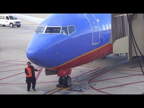 Southwest Airlines B737-7H4 Takeoff From Orange County