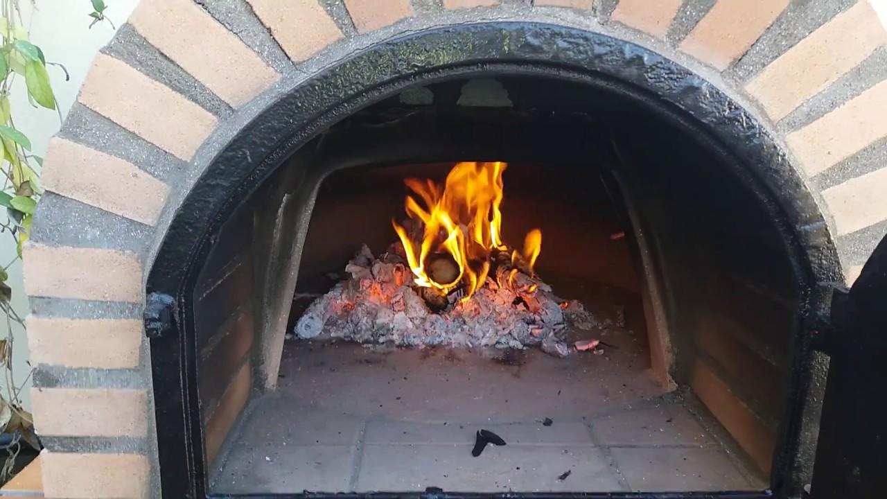 Primer encendido horno le a para cocinar youtube - Cocinar en horno de lena ...
