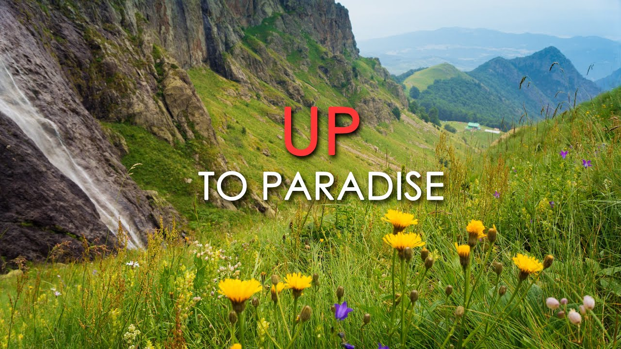 UP to Paradise - A Meditative Journey into Pristine Nature - Peaceful Flute Music - HD 1080p