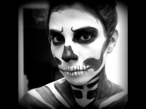 Mens Face Paint Scary