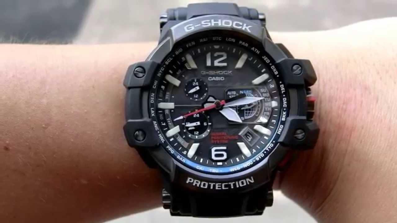 60c92ee188e 140803 CASIO G-SHOCK GPW-1000 GPS HYBRID WAVE CEPTOR 6 - YouTube
