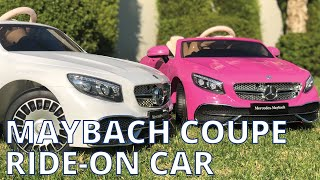 12V Mercedes S650 Maybach Coupe Electric Ride on Car for Kids