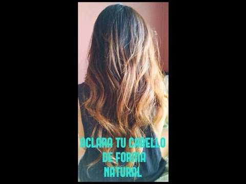 Shampoo que aclara el cabello de forma natural doovi - Como aclarar el pelo en casa ...