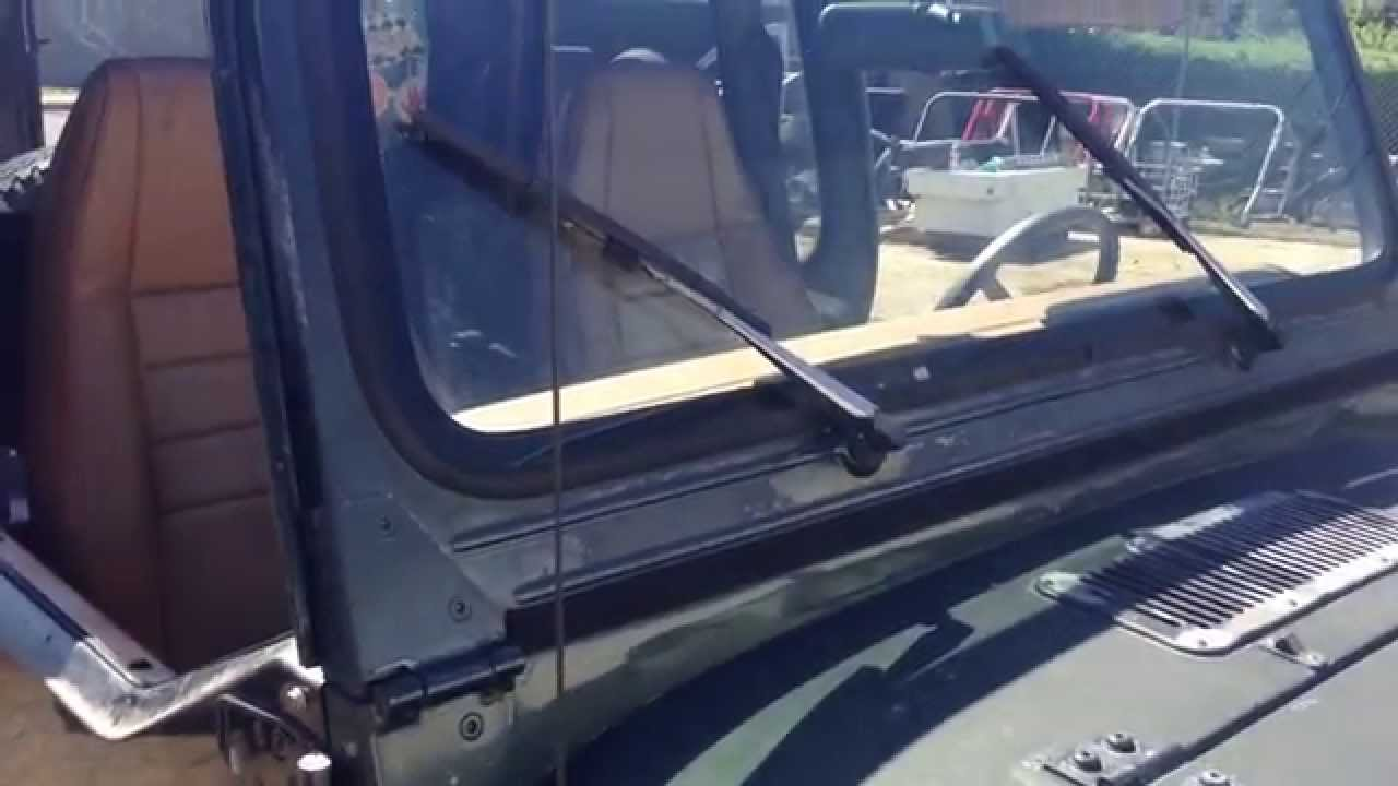 Jeep yj windshield frame replacement
