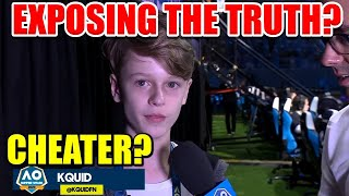 Exposing The Truth About The FNCS Pro Cheater Kquid..