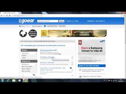 How to download music from Goear.com