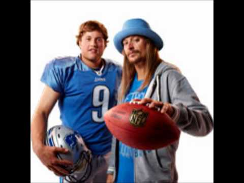 Kid Rock - In Detroit (Detroit Lions Anthem)