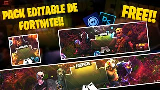 Fortnite Free Editable Design Pack!! | Pc/Android ? JAVIERS