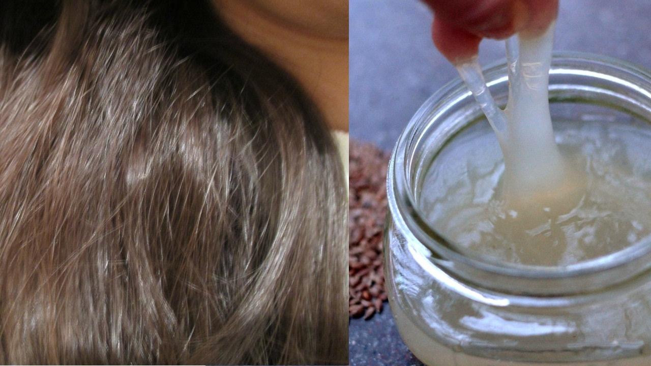 تجربتي الناجحة تنعيم وترطيب الشعرالجاف بجل بذور الكتان