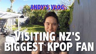 Andy visits New Zealand's biggest K-pop fan