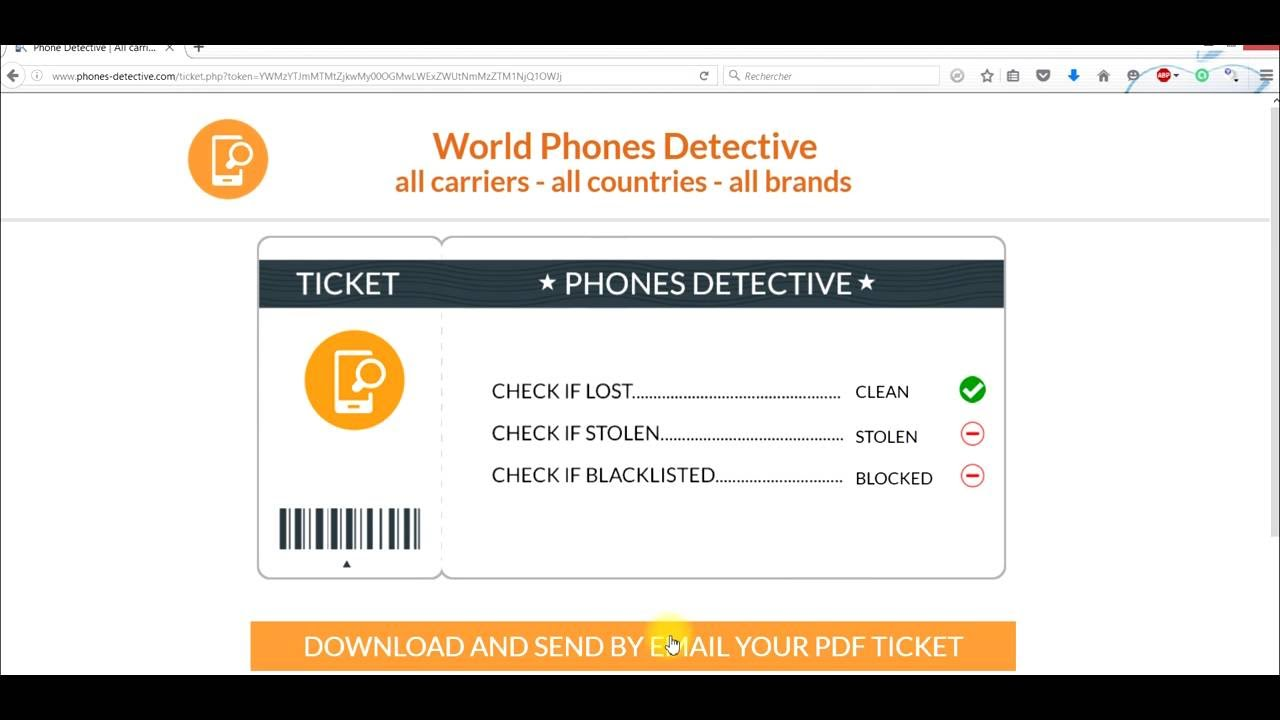 check if iphone is stolen check verify imei iphone phone blacklisted stolen lost 16807