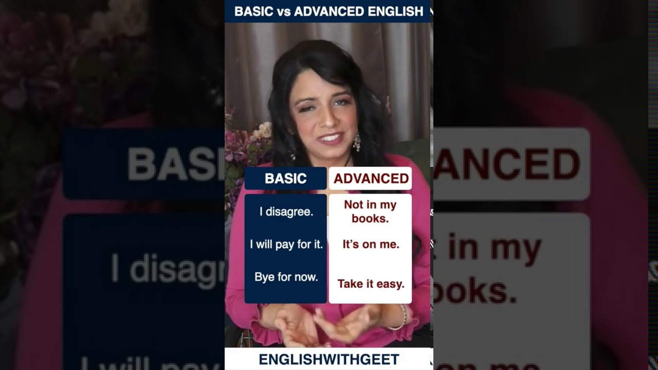 How to Speak English Like a Native Speaker   Advanced English Phrases   English With Geet   #Shorts