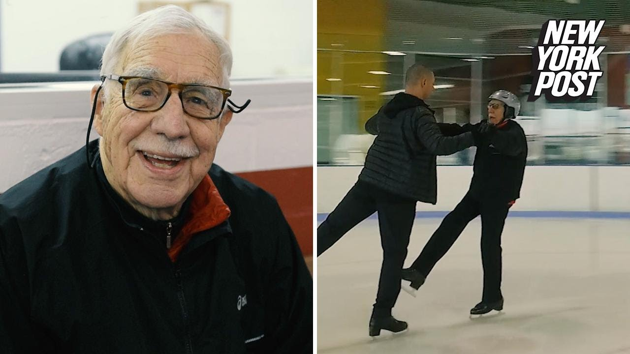 Why a 95-year-old Federal Judge Got Into Ice Dancing | Extraordinary People  | New York Post