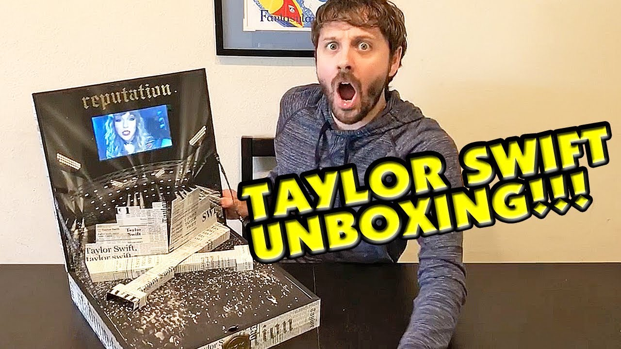 Taylor Swift Reputation Tour Vip Unboxing Youtube