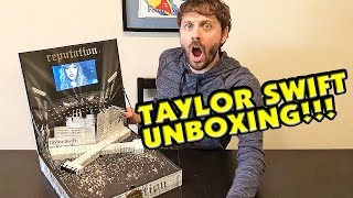 Taylor Swift reputation Tour VIP UNBOXING!