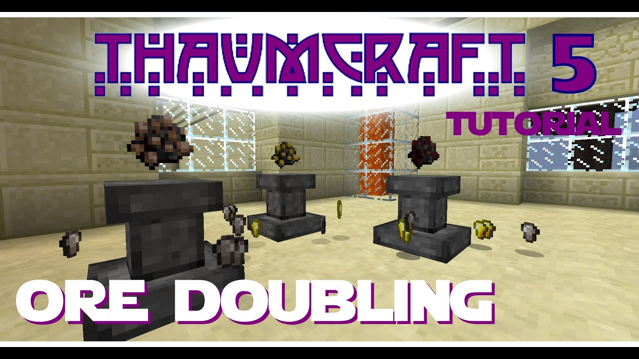 Thaumcraft 5 Tutorial - Part 14 - Infusion - Altar Construction, Use, and  Stability