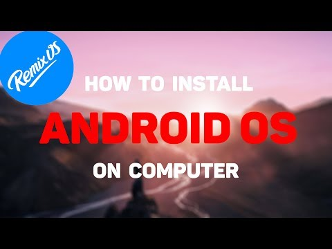 How to Install Android OS on any Computer | Dual Boot Windows + Remix OS ✔