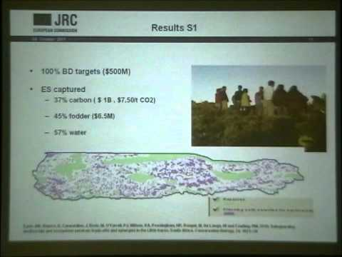 ESP Conference 2011 Identification of Protected Areas by Benis Egoh (Joint Research Centre-EC)
