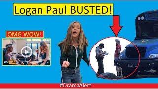 Logan Paul BUSTED! #DramaAlert Ninja Break World RECORD! KSI Adult Video? Bhad Baby Woahhvicky!