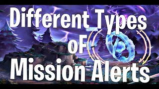 Mission ALERTS Types in Fortnite Save The World | How To Earn VBucks | Fortnite PvE