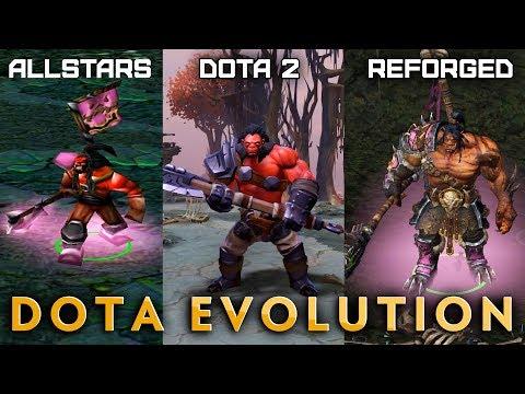Dota Evolution — HERO COMPARISON: DotA Allstars, Dota 2, WC3 Reforged DotA