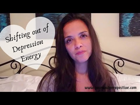 shifting out of depressed energy