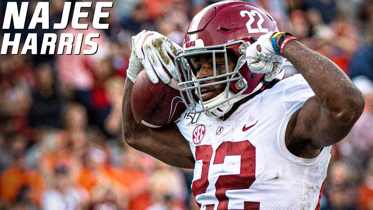 Najee Harris player stats: Live updates for Alabama running back vs ...