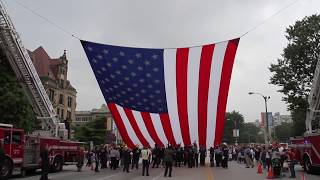"""The Patriotic Tribute from The American rodeo """"Why I Stand"""" (2018 American Opening )"""