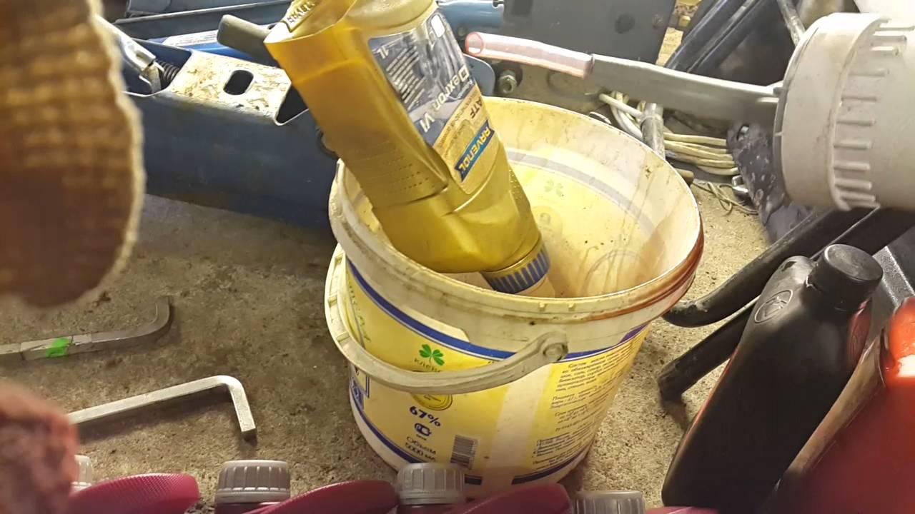 какое масло заливать в раздатку kia sportage 3
