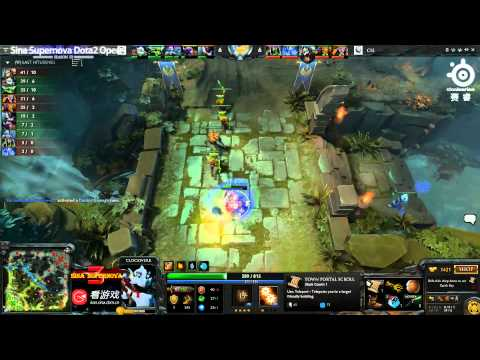 Sina Cup S3 - SNT vs CIS game 1