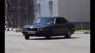 BMW e34 - покупка на ЭМОЦИЯХ! ДРИФТ и ЗАЕЗД по городу!