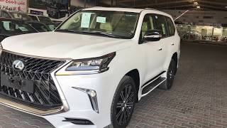 لا تفوتك حصري لكزس جيب  Lexus Lx 570  Sport 2018