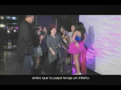 Jennifer Vitalia shoots Natasha  for MTV3 Quiero Mis Quinces
