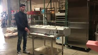 60 ins  Counter top Salad Sandwich Prep Table Refrigerator RESTAURANT EQUIPMENT