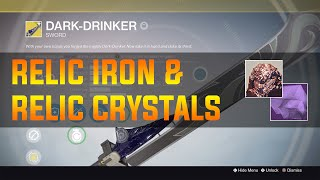 Destiny: Fastest way to farm Relic Iron & Relic Crystal