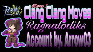 Live! Ragnarok Mobile ▪ Clang Clang Moves BY. Arrow03
