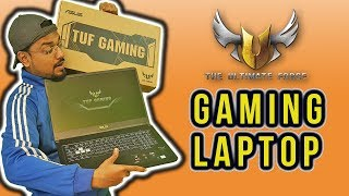 Gaming Laptop for PUBG, Fortnite, Apex Legends with 144Hz Monitor, RGB keyboard and m.2 SSD.