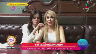 Lucía Méndez Y Dulce Aclaran Motivo De Sus Risas Durante El Homenaje A José José   Sale El Sol