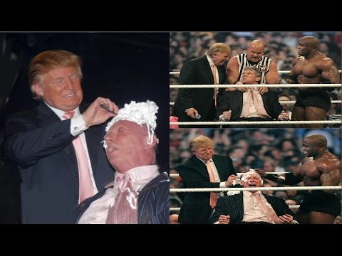 WWE Donald Trump vs Mr Mcmohan I The Battle of the Billionaires I WWE Donald Trump