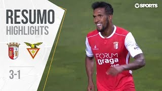 Highlights | Resumo: Sp. Braga 3-1 D. Aves (Liga 18/19 #3)