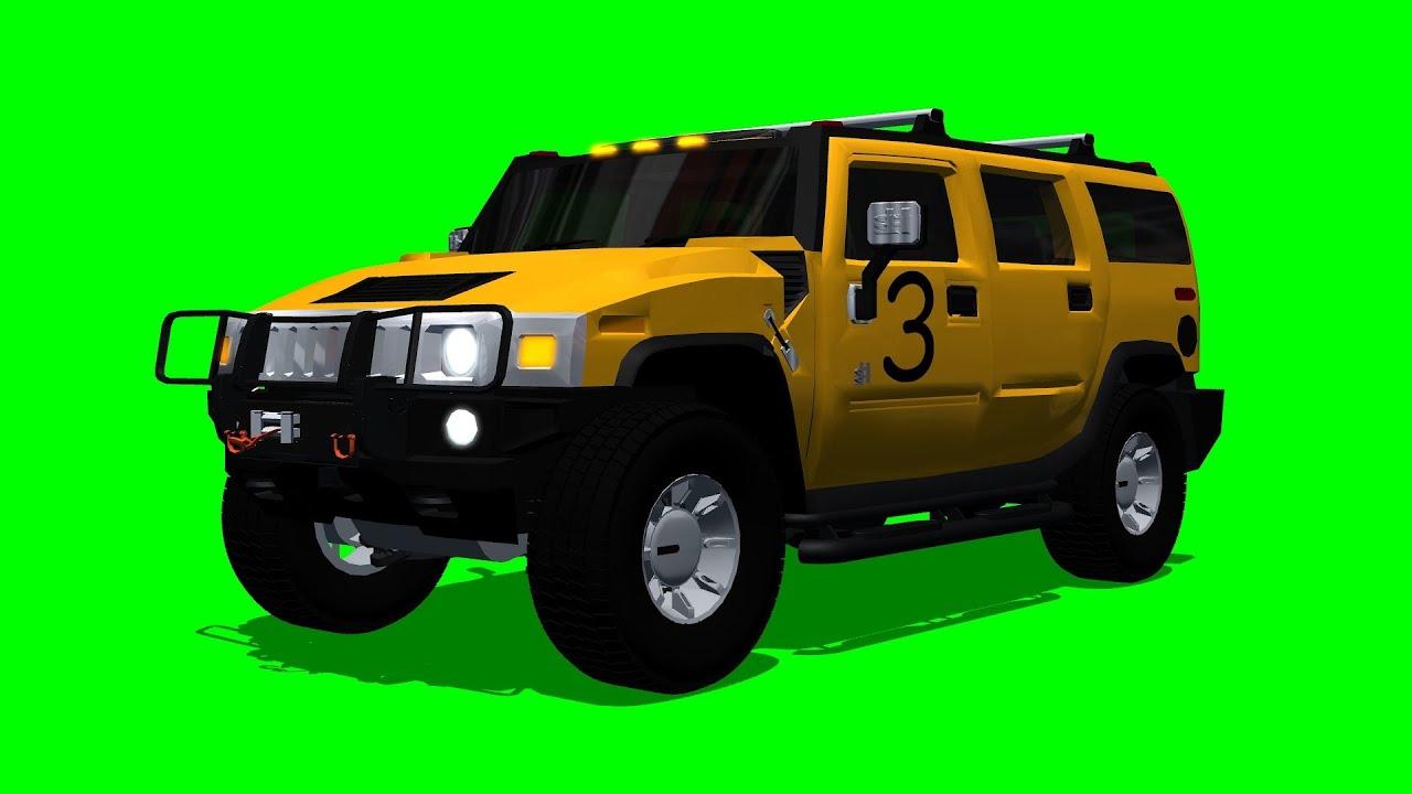 ZOMBIELAND H2 HUMMER - green screen - YouTube