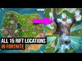 ALL 15 Rift Locations in Fortnite - Season 5 Challanges