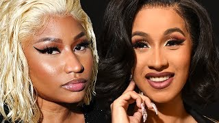 Nicki Minaj Exposes Cardi B & Says She